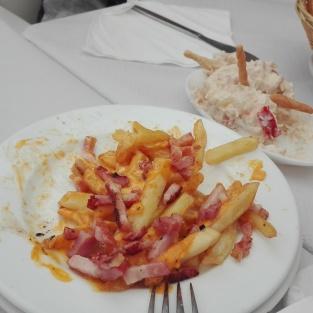 Patatas cheedar